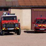 Véhicules des pompiers
