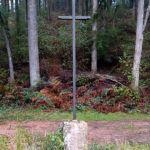 Croix de l'intersection des Bruyères et Montrouan